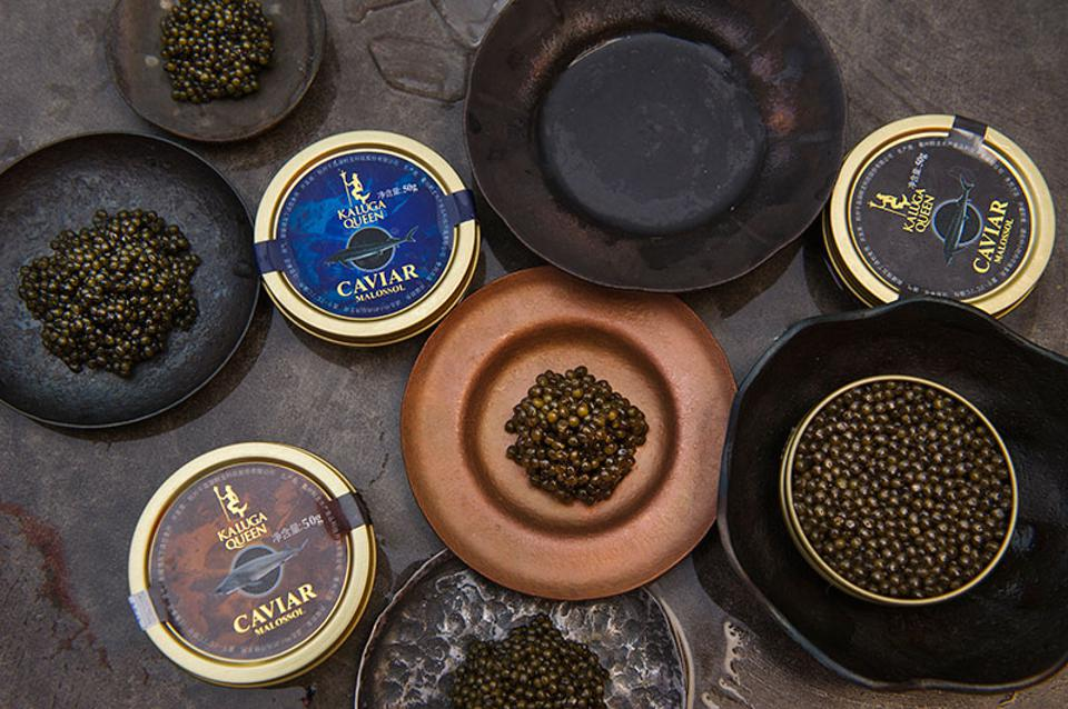 Kaluga Queen may just be the most coveted caviar on the market: even a small tin costs hundreds of dollars.