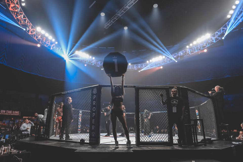 PFL's fighting cage will be wired in 2019 to provide viewers the speed of punches and kicks, power ratings, heart rate tracking and energy exerted.