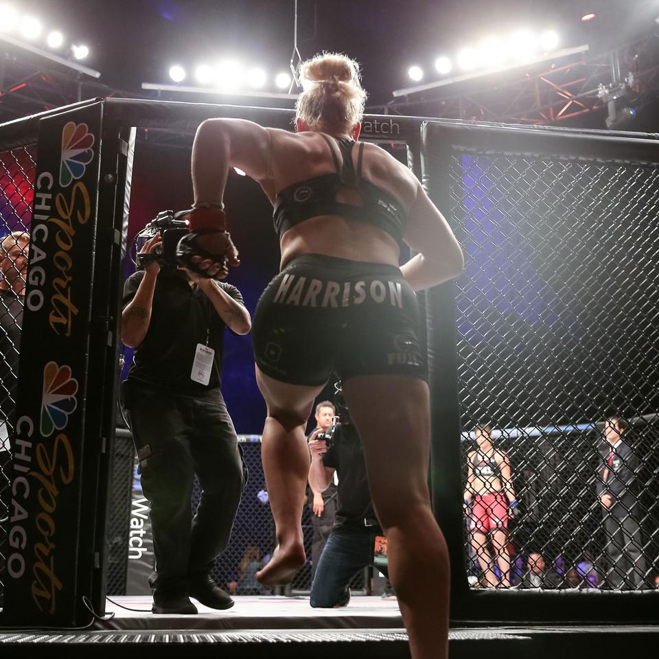 Two-time Olympic gold medalist Kayla Harrison will be the featured fighter in the PFL's new women's division in 2019.