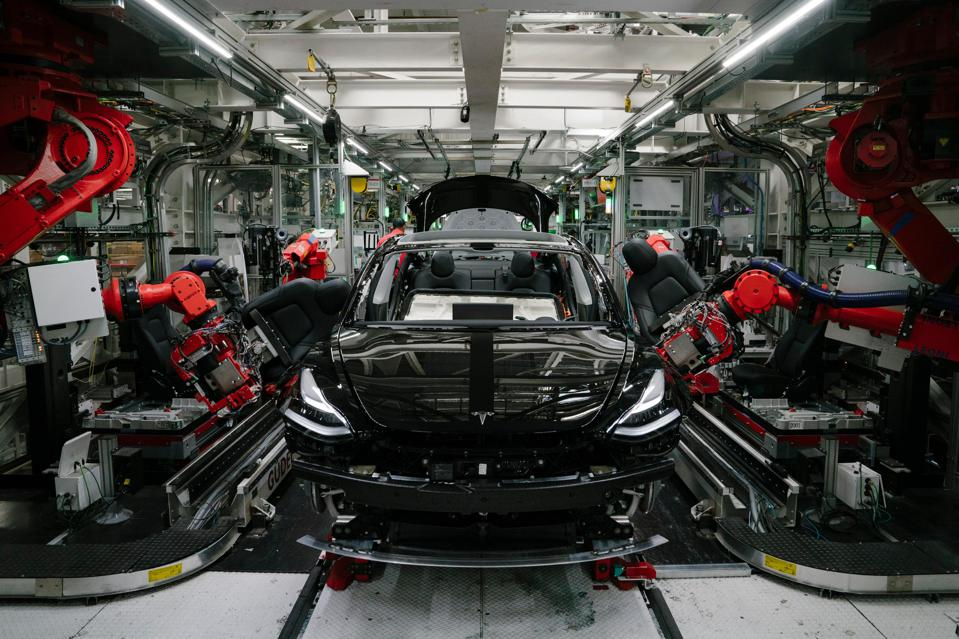 Tesla Model 3 Production Stuck In Neutral As Company Rolls