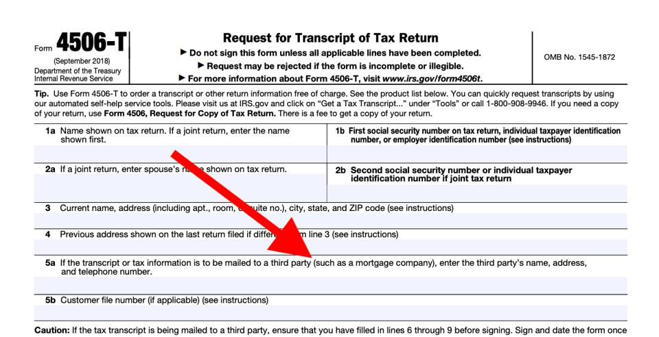 4506 t form march 2019  Shutdown Of IRS & Other Government Agencies Is Causing ...