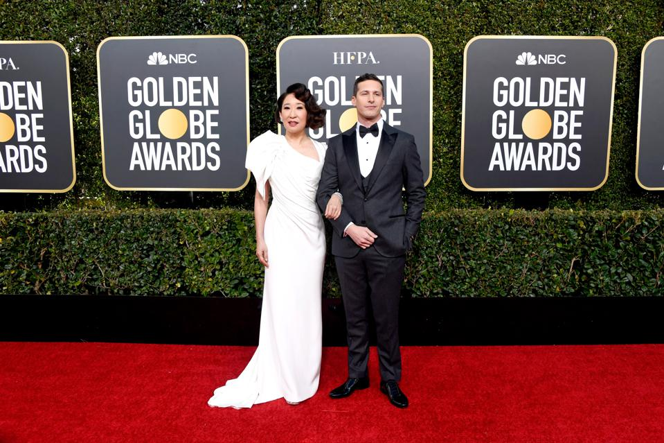 Sandra Oh and Andy Samberg are the cohosts of the 76th Annual Golden Globes.