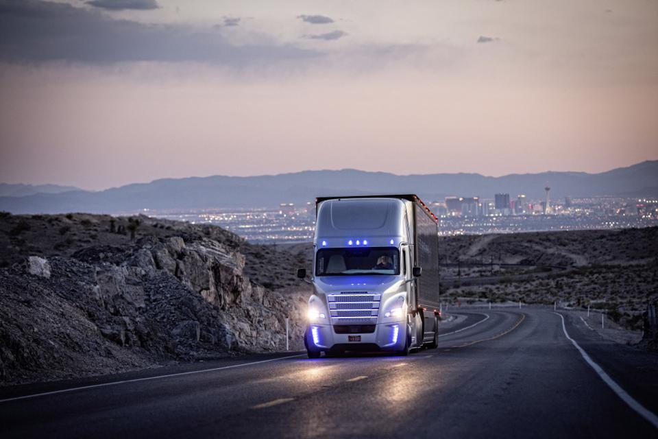 Daimler Trucks said at the Consumer Electronics Show in Las Vegas that it will bring highly automated trucks (SAE level 4) to the road within a decade and is committing $570 million to do so.