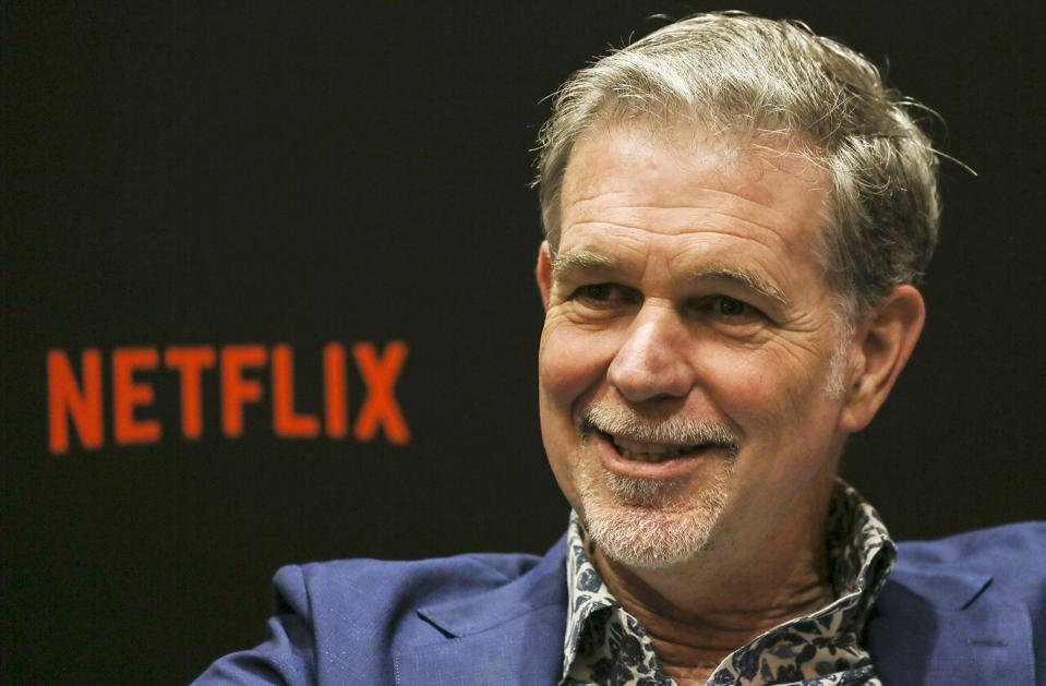 Netflix cofounder Reed Hastings.