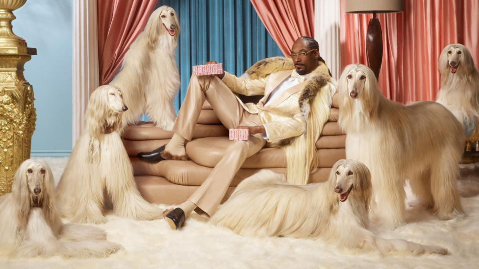 As part of his investment, Snoop Dogg is also becoming the face of Klarna's Smoooth Dogg campaign.