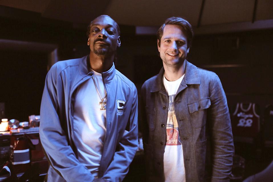 Klarna CEO Sebastian Siemiatkowski first met Snoop Dogg in the artist's recording studio last year.