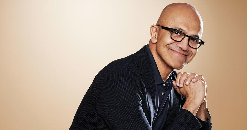 Microsoft CEO Satya Nadella appeared on a recent Forbes cover as part of a package on why more companies are