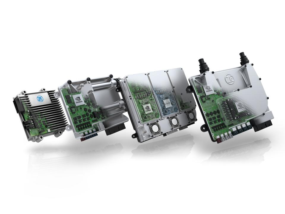 The ZF ProAI scalable automated driving platform, built on NVIDIA DRIVE.