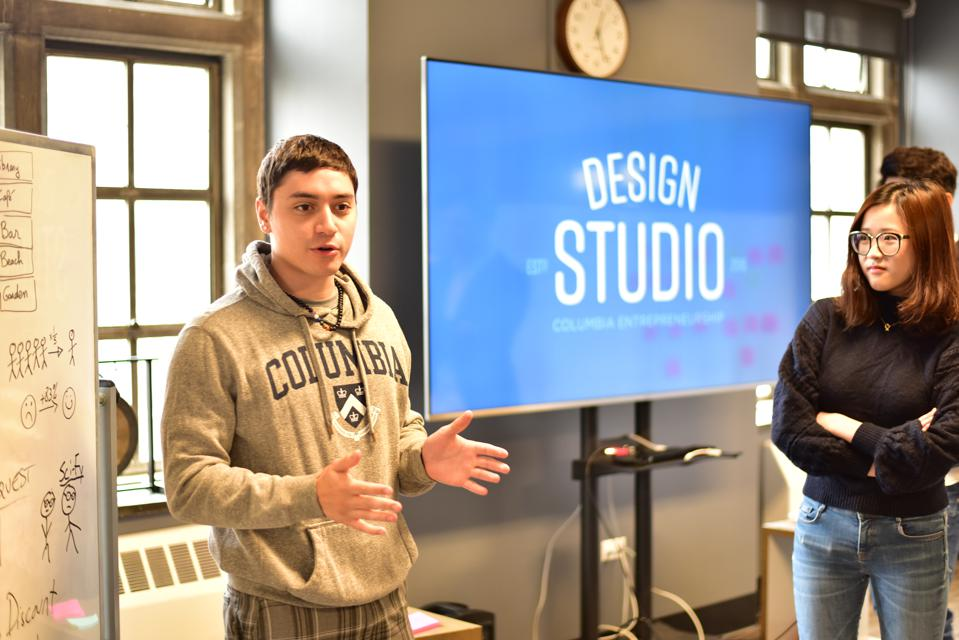 Students share their findings in the Design Studio