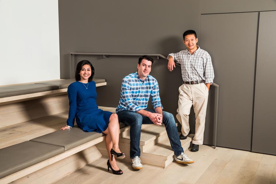 Confluent founders Neha Narkhede, CEO Jay Kreps and Jun Rao have built a new unicorn on top of open-source code.