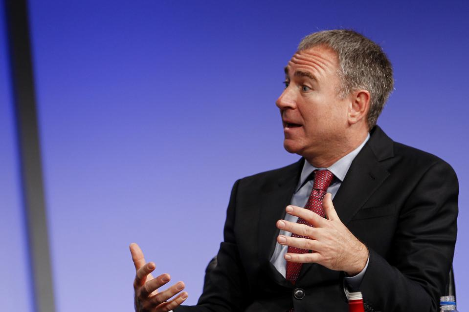 Griffin at The Milken Institute Global Conference in 2013.