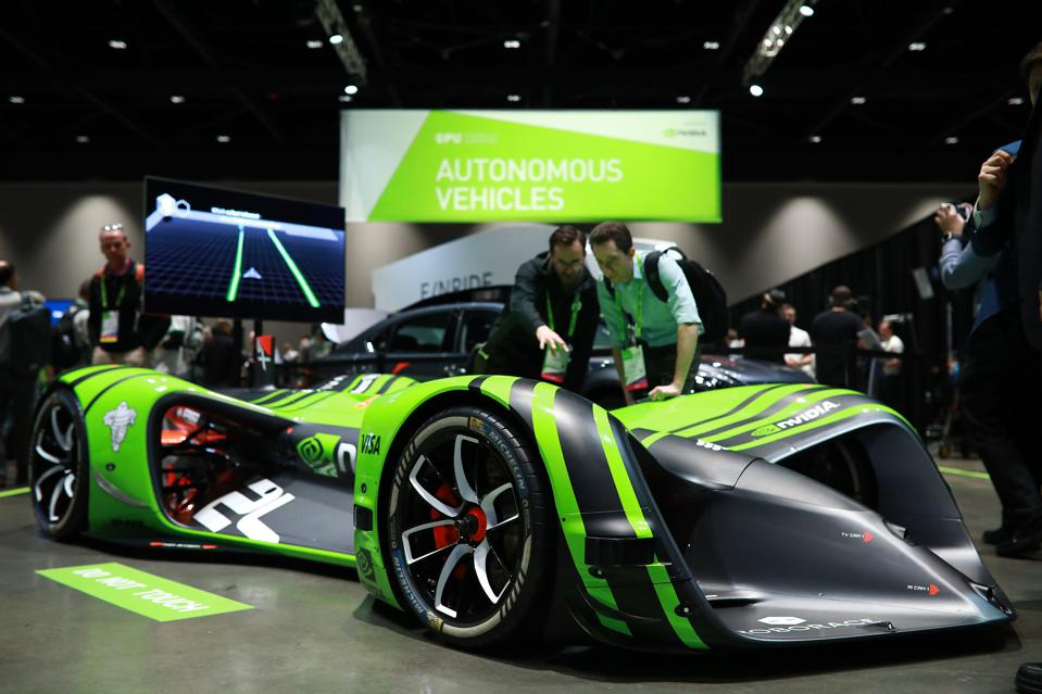 Industry experts, analysts and media gather at GTC Silicon Valley to see the latest in autonomous driving technology.