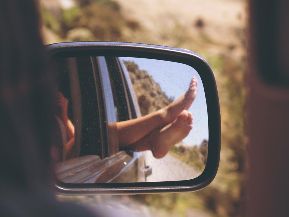 If you stick your limbs out of a moving car, you'll feel a force as the air rushes past.