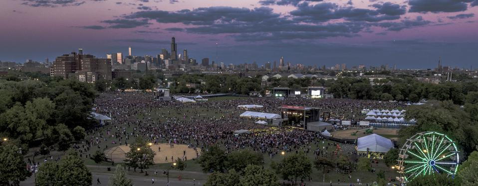 RiotFest in Douglas Park in Chicago is a good place to see up-and-coming bands, along with the top names in rock.