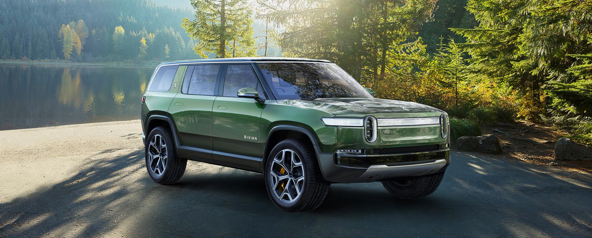 Nature Toy: Rivian's R1S looks so posh standing still, it's hard to believe the seven-seat SUV can be so ferocious on or off the hardtop.