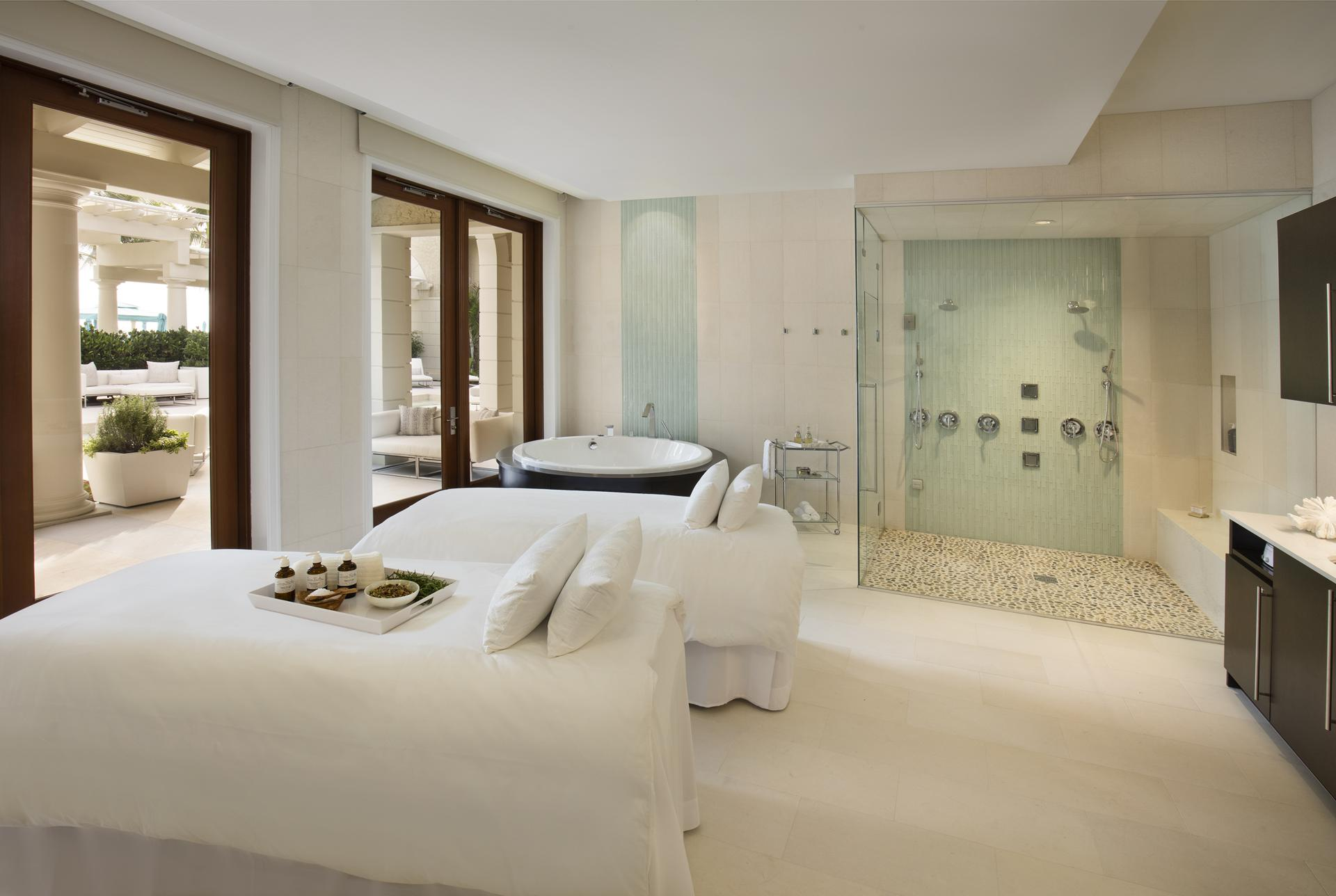 The Spa at The Breakers Palm Beach offers a slew of exfoliating and cleansing treatments, from marine algae body wraps to a rose quartz massage.