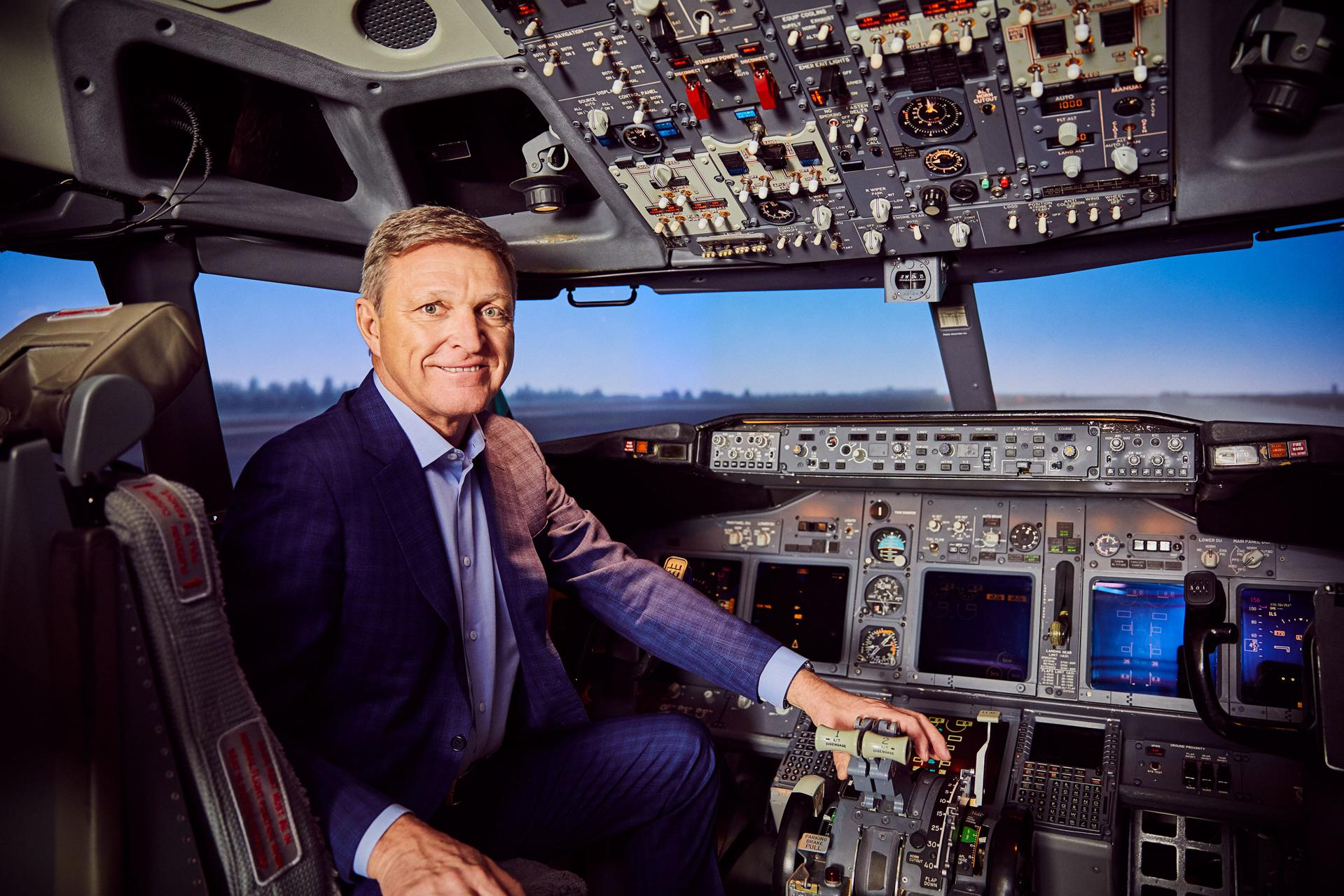 Here's Who May Be Teaching Your Airline Pilot To Fly: In Air Travel Boom, CAE Soars