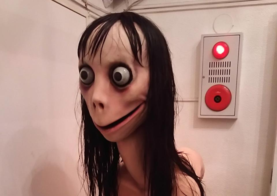 Twitter users have been posting Momo images too.