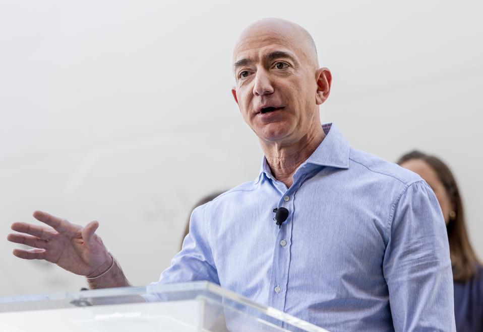 Amazon's Jeff Bezos is the world's richest person.