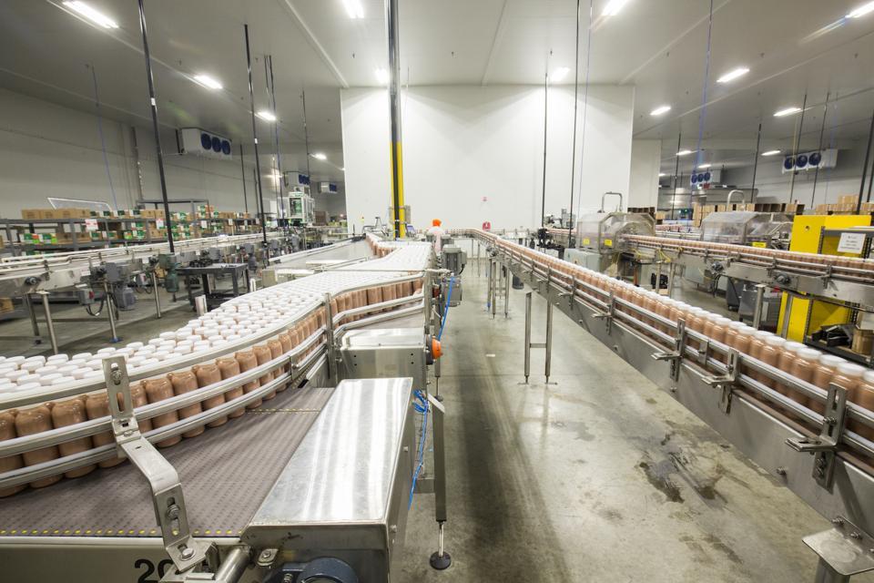 Suja Life's 122,000 square foot plant near San Diego.