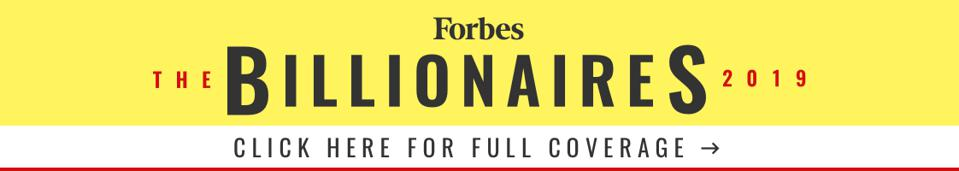 Clickable image linking to Forbes Billionaires 2019 landing page