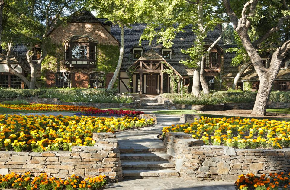 Neverland Ranch home