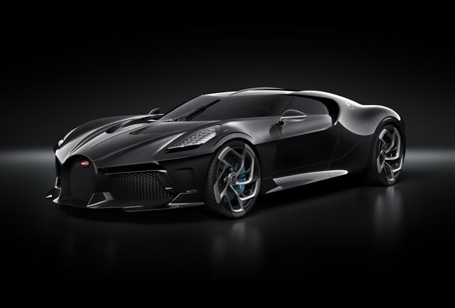 Bugatti's La Voiture Noire Sells For Nearly $19 Million, Making It The Most Expensive New Car Ever