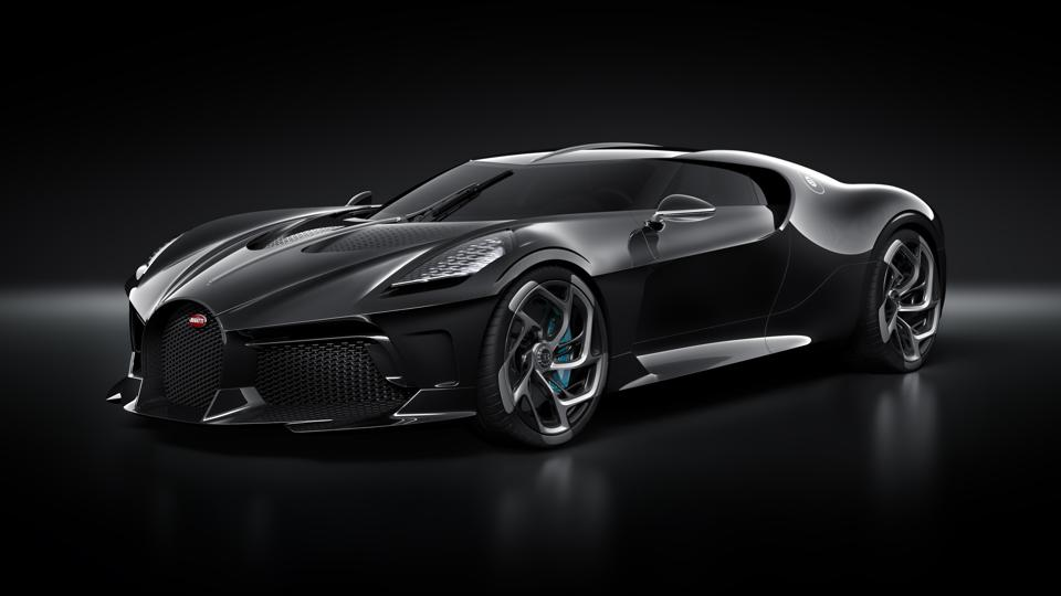 Bugatti S La Voiture Noire For Nearly 19 Million Making It The Most Expensive New Car Ever