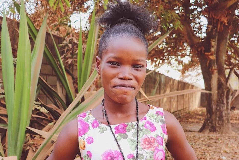 Former child soldier Graciela, 17, was forced to join an armed group in the Central African Republic when she was just 11 years old.