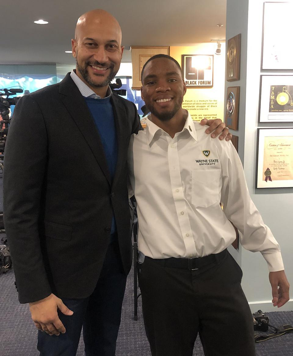 Jaquan and Keegan-Michael Key