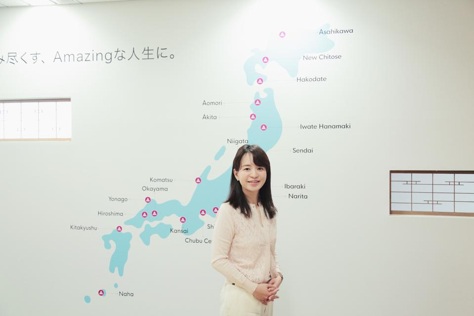 Headed by CEO Fumiko Kato, Tokyo startup WAmazing has established a network of SIM card distribution machines across Japan.