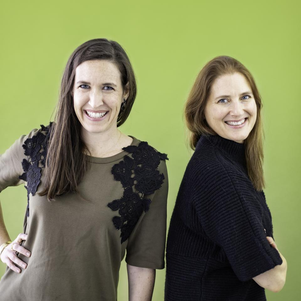 Michelle Larivee (left) and Shari Auth (right), the cofounders of WTHN.