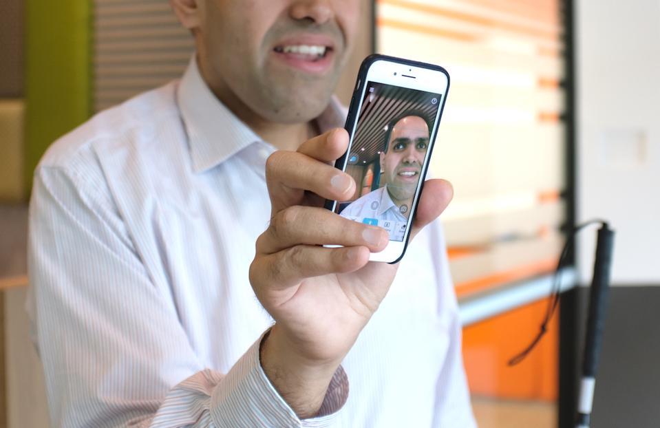 Microsoft's lead engineer on Seeing AI, Saqib Shaikh.