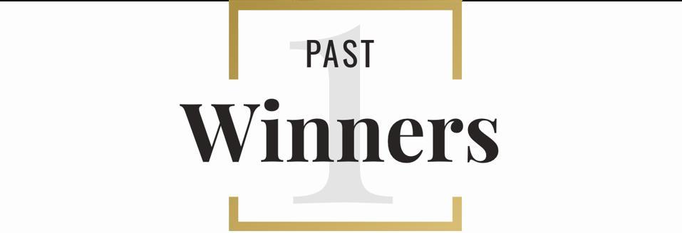 1 past winners