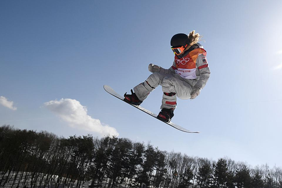 US snowboarder Chloe Kim competed at the 2018 Olympics in Pyeongchang.