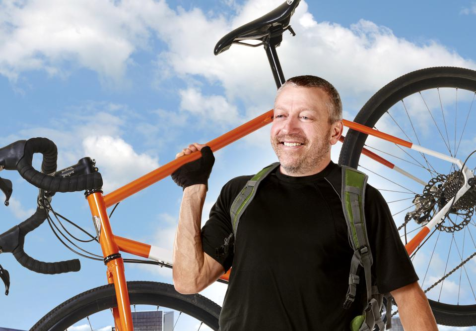 Quality Bicycle Products CEO Rich Tauer.