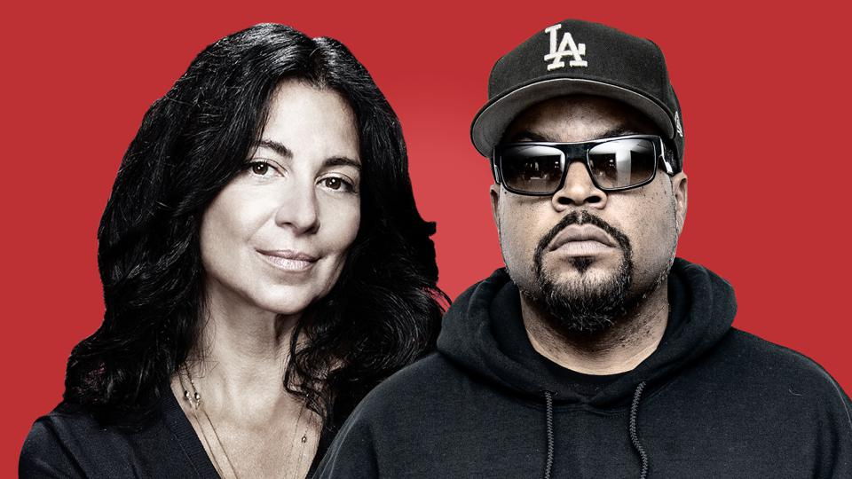 Carolyn Rafaelian and Ice Cube are teaming up to bid on 21 regional sports networks, a vestige of the Disney-Fox deal.