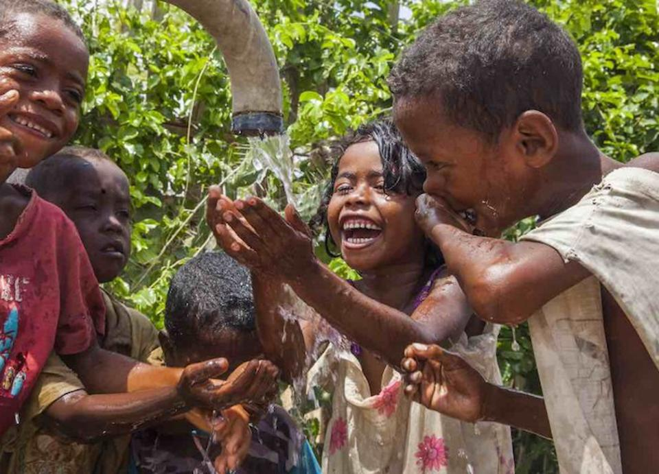 UNICEF is working to improve access to safe drinking water in southern Madagascar, where more than 90 percent of homes lack even the most basic sanitation facilities.