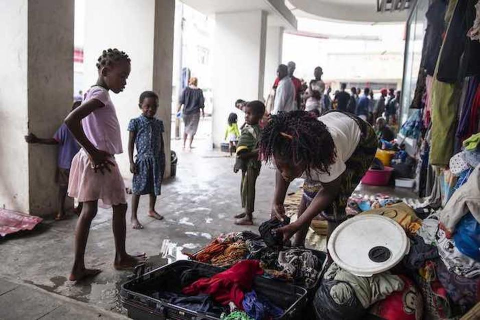 Beiras elavad pered, kes on kaotanud oma kodu ja ei saa sattuda mitteametlikesse asulatesse, kes on nüüdseks kadunud.