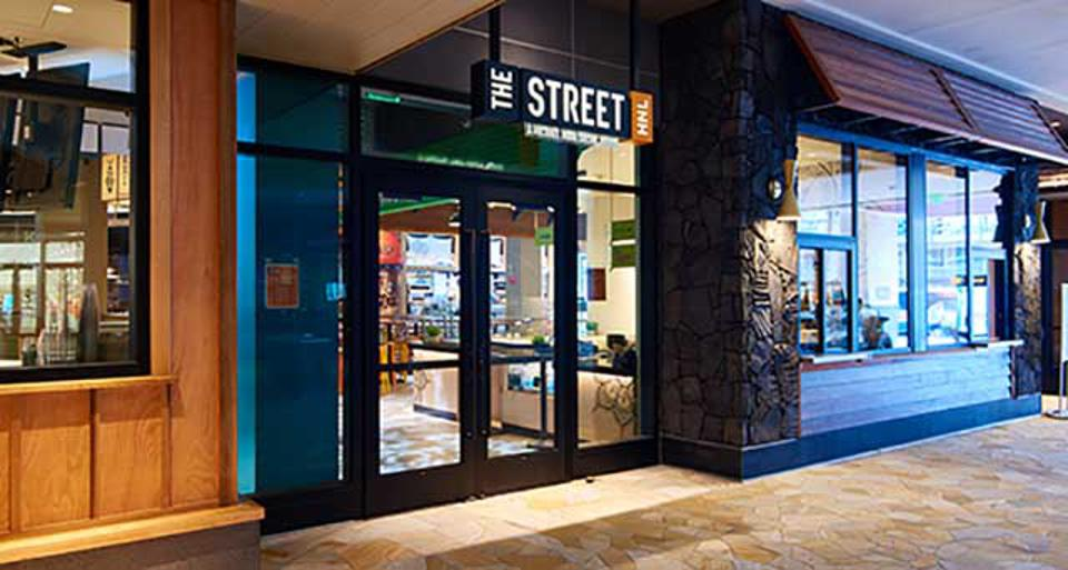 At The Street Food Hall in Hawaii, 14 stations let Michael Mina's talented chefs curate some of their favorite dishes.
