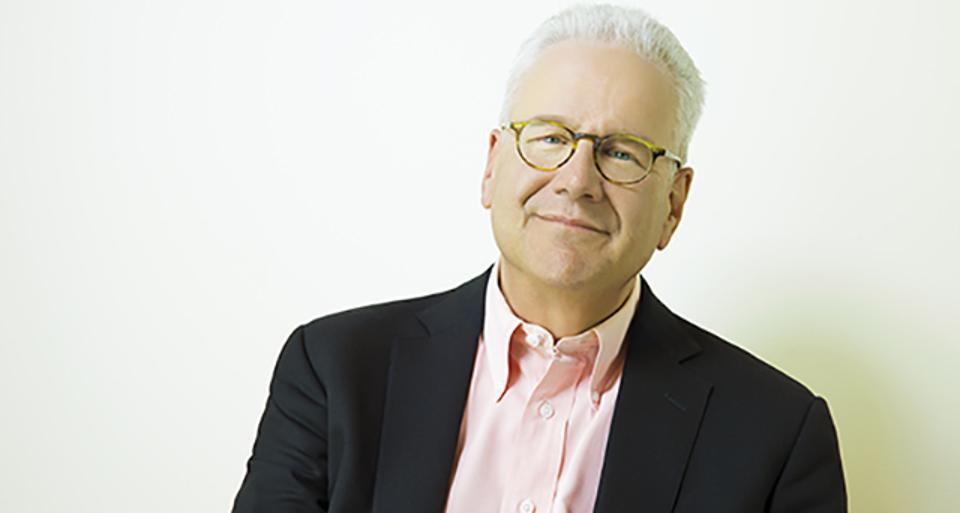 Author Geoffrey Moore spoke at the recent Oracle Modern Business Experience event.