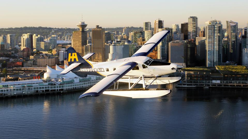 Harbour Air DHC-2 Otter electric