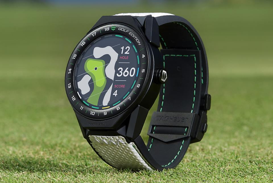 TAG Heuer Connected Modular 45 Golf Watch