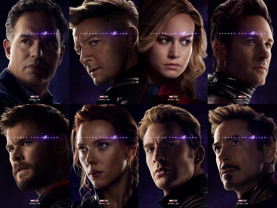 3f09847bc These New 'Avengers: Endgame' Character Posters Reveal One Of ...
