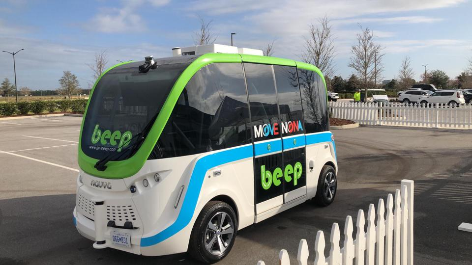 Orlando demonstrated its first autonomous shuttle in February.