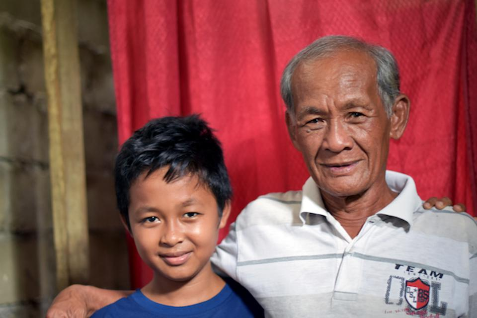 Rivaldi, 13, was missing for three days after an earthquake and tsunami hit Central Sulawesi, Indonesia in September 2018. UNICEF Indonesia helped reunite him with his father, Pak Bakir.