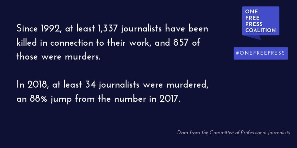 Facts from One Free Press Coalition