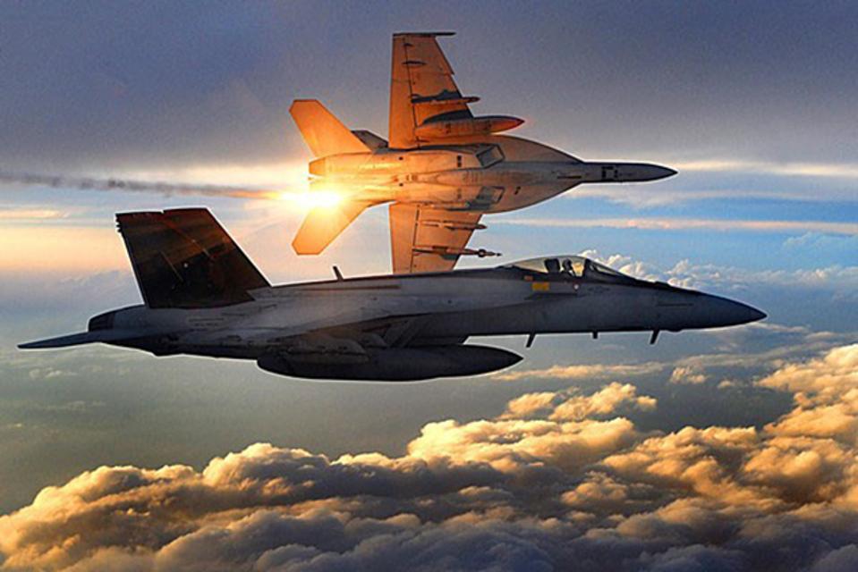 CAES F-18