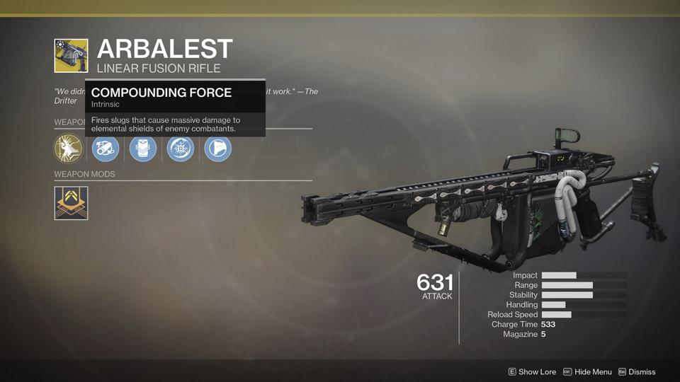 Where Is Destiny 2's Arbalest, The Other Season Of The Drifter