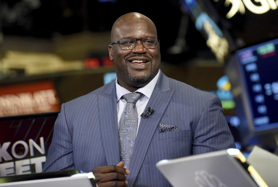 Papa John's Media Day with Shaquille O'Neal